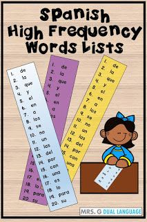 3 Important Things About Spanish High Frequency Words