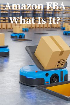 """Let's start from the beginning: what exactly is Amazon FBA? Essentially, FBA here stands for """"Fulfillment By Amazon."""" This does exactly what it says on the tin: it means that Amazon will handle your fulfillment. With FBA, you'll be able to outsource all the most complicated, costly, and error-prone aspects of your business, and instead just focus on choosing products and selling them. Content Marketing, Affiliate Marketing, Amazon Fba, Laptop, Handle, Lifestyle, Business, Products, Store"""
