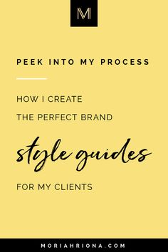 Wondering what to include in the perfect branding guide? Click through for a peek at how I design my own branding clients' style guides! Business Branding, Logo Branding, Branding Design, Marketing Branding, Branding Ideas, Brand Identity, Brand Guide, Brand Style Guide, Web Design