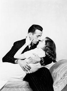 """""""no one has ever written a romance better than we lived it."""" • lauren bacall  Humphrey Bogart, Ingrid Bergman"""