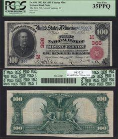 Coin Collection Value, Money Notes, Coin Auctions, Mount Vernon, Coin Collecting, Pentagon, Indiana, Seal, The 100