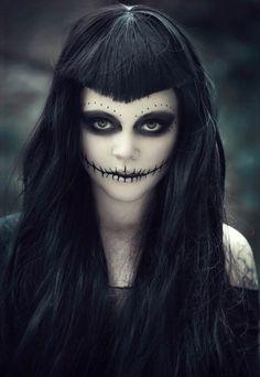 Maquillaje para Halloween novia cadáver on Revista web  http://revistaweb.es/chicas-guapas-con-maquillaje-para-halloween/