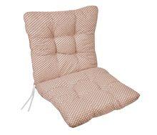 Μαξιλάρι Καρέκλας Πουά Μπεζ 50x100