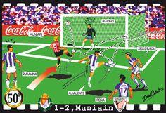 Valladolid, 1 - Athletic, 2 - Muniain