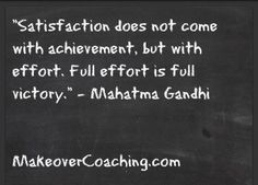 How much EFFORT are you putting into your FUTURE!