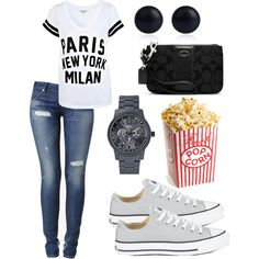 Movie Night! - Polyvore by vaneros