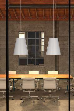 The Gunnar Pendant #lighting #design #moderndesign #ironageoffice Http://www