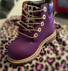 Purple Timb's wit da bling