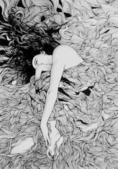 ❤~ Mandala para Colorear ~❤   Duerma el Sueño del Sueño por Mooray. sleep dream sleep by ~mooray