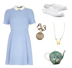 """""""Alice in wonderland"""" by tara2481 on Polyvore featuring Lacoste, River Island and Twig"""