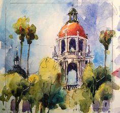 Art and Life: Small Pasadena Paintngs