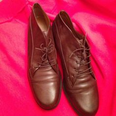 Boots no box. Leather pre love. Worn once. Easy Spirit Shoes Ankle Boots & Booties