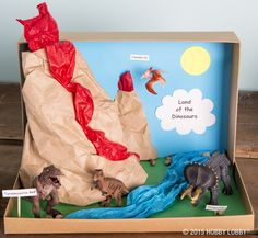 Our diorama animals are perfect for school projects, even if you're just hearing about them the night before they're due!