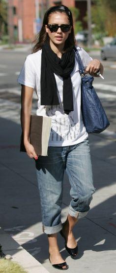 Jessica Alba - Outfit Idea