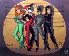Gotham City Sirens Jam - Harley Quinn, Poison Ivy, Catwoman, Talia al Ghul…