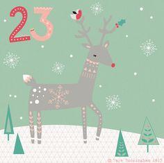 Day 23 christmas advent, by Faye Buckingham