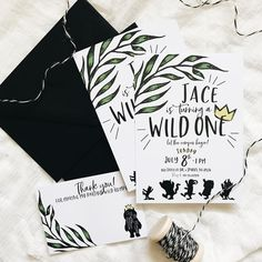 wild ONE birthday invitation theme Wild One Birthday Invitations, Paper Companies, Wild Ones, Invitation Suite, Pretty Little, First Birthdays, Custom Design, Birthday Parties, Dog Stuff