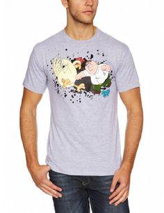 Padre de Familia - Camiseta pelea con el pollo #regalo #arte #geek #camiseta
