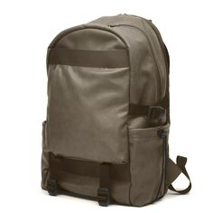 Mandarina Duck is too fucking awesome I only wish my ideas were this cool.   Nomad Bag Backpack Mud on Mandarina Duck Shop