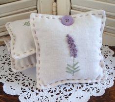 Lavender sachet. $6.00, via Etsy.