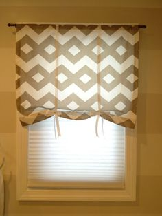 Small Curtains For The Master Bathroom