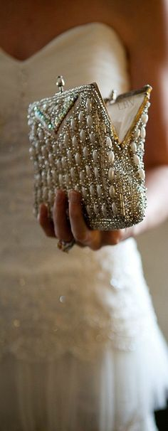 Clutched with Pearls ❤  So pretty! I have nowhere to wear it, but its gorgeous.
