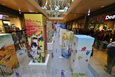 Viele #Künstler – darunter auch #OttoWaalkes und #UdoLindenberg – gestalteten für die auf Initiative der #EuropaPassage gegründete gemeinsame Aktion mit #Milka, #BUDNI, #car2go und der #Walentowski #Galerie einmalige #Stehlen in individuellem #Design.  Rund 1.000 Arbeitsstunden haben die 20 Künstler aus dem In- und Ausland investiert. #EuropaPassageHamburg #Shoppingperle #Hamburg #welovehh #Shoppen #GuterZweck