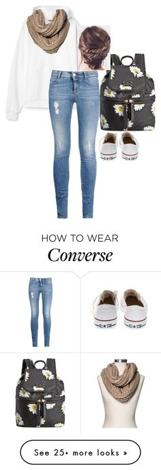 """""""Feeling special"""" by aysiaismej on Polyvore featuring Kate Spade, STELLA McCARTNEY, Merona and Converse"""