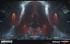 ArtStation - Wolfenstein 2: The New Colossus // Area 52, Daniel Robson