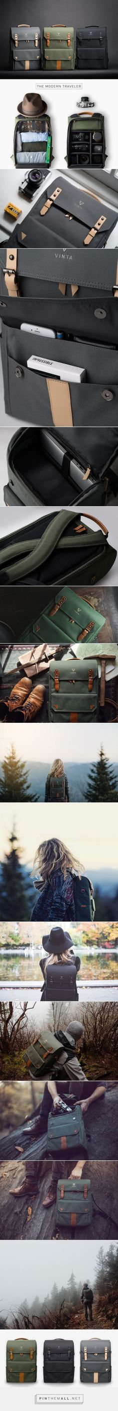 A Travel & Camera Bag for Everyday Adventures - Design Milk http://amzn.to/2qVD33G