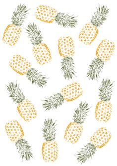 Pineapple Art Print by Rui Faria