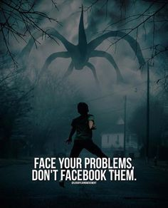 Positive Quotes :    QUOTATION – Image :    Quotes Of the day  – Description  Face your problems dont facebook them.  Sharing is Power  – Don't forget to share this quote !    https://hallofquotes.com/2018/03/30/positive-quotes-face-your-problems-dont-facebook-them/