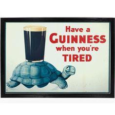 Guinness beer poster vintage poster printable by printableOldies Vintage Advertising Posters, Advertising Signs, Vintage Advertisements, Vintage Ads, Vintage Posters, Vintage Travel, Vintage Style, Posters Uk, Retro Ads