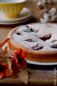 Torta Nua alla marmellata - Brodo di coccole Something Sweet, Ricotta, Muffin, Cookies, Desserts, Recipes, Food, Cupcake, Sweet Recipes
