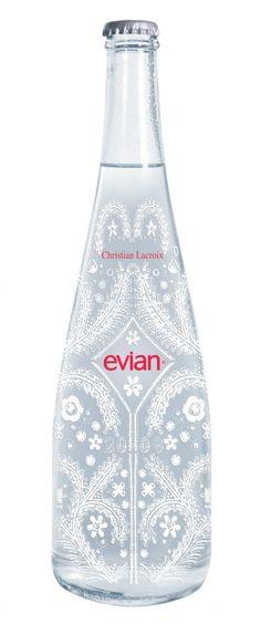 Co-Branding #evian #lacroix