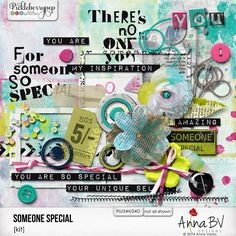 Someone Special elements pack by Anna BV Designs Digital Scrapbooking, Anna, Packing, Kit, Unique, Collections, Inspiration, Design, Products