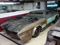 Cool death race zombie killa car.