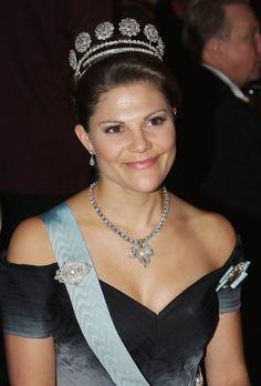 Princess Victoria - Nobel Foundation Prize 2007 - Gala Dinner