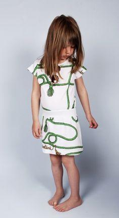 Mini Rodini SS13 Bon Voyage Rope Print Dress