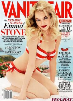 pin-up cover. She is sooo HOT!