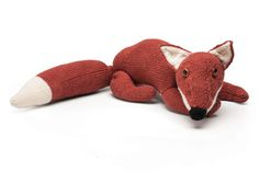 """Knitting pattern: Fox 