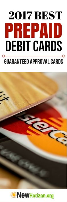 2017 Best Prepaid Debit Cards   Guaranteed Approval Cards