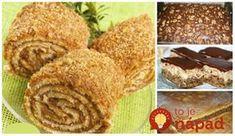 Máte radi orechy? 11 najlepších receptov na dezerty z vlašských orechov!