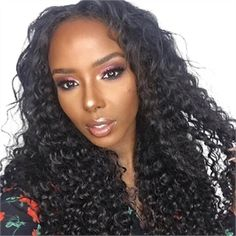 Brazilian Kinky Curly 360 Lace Frontal Wig For Black Women CMWG0015 360  Frontal Wig 25122c9660