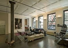 cool and eclectic loft apartment