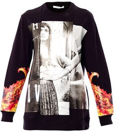 Givenchy Collage-print sweatshirt on shopstyle.com