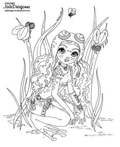 http://www.deviantart.com/art/Steampunk-frog-fairy-Lineart-621514157