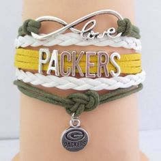 Packers leather bracelet (NWT)5 left! Price firm unless bundled, no trades. Makes a great gift! Jewelry Bracelets