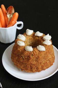 Supersaftiger Karotten-Kokos-Gugelhupf ohne Nüsse