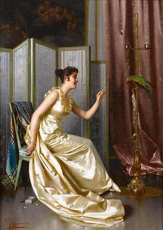 Irving Ramsey Wiles.(American painter, 1861–1948)